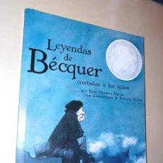 Libros: LEYENDAS DE BECQUER CONTADA A LOS NIÑOS - ROSA NAVARRO - EDEBE (2014). Lote 288981933