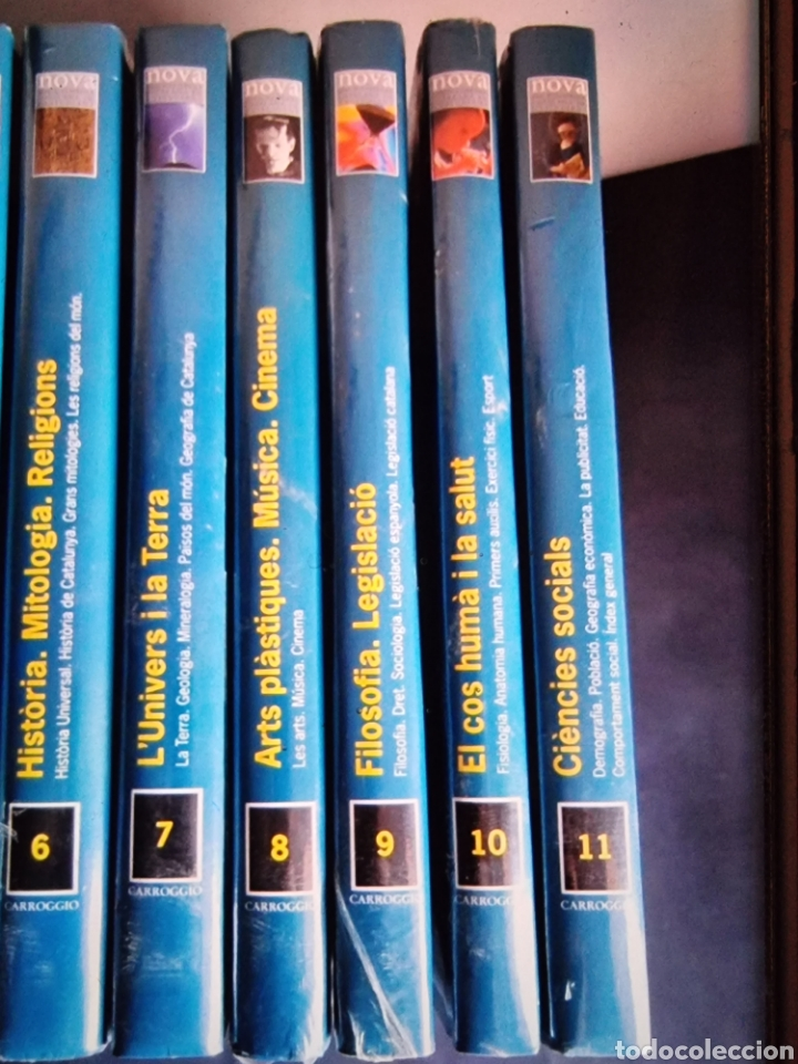 Libros: NOVA enciclopedia Catalana de lestudiant, completa, 11 tomos - Foto 3 - 289001688