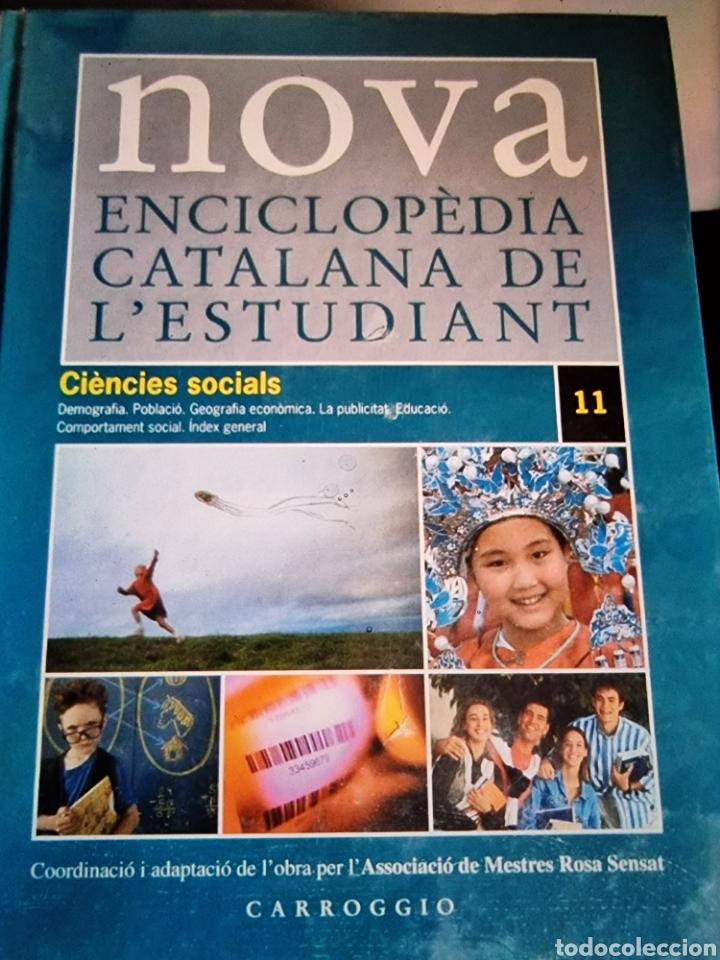Libros: NOVA enciclopedia Catalana de lestudiant, completa, 11 tomos - Foto 10 - 289001688
