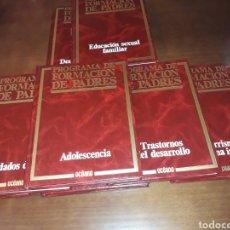Libros: PROGRAMA DE FORMACIÓN DE PADRES EDITORIAL OCÉANO. 8 TOMOS.. Lote 291905193