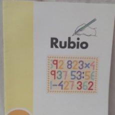 Libros: CUADERNO DE OPERACIONES DE RUBIO. Lote 292367193