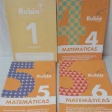 Libros: CUADERNOS MATEMÁTICAS Y CÁLCULO DE RUBIO. Lote 293142528