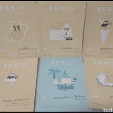 Libros: CUADERNOS ANTIGUOS DE OPERACIONES RUBIO. Lote 293143068