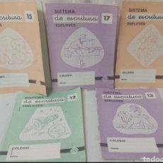 Libros: CUADERNILLOS DE ESCRITURA ANTIGUOS EDELVIVES. Lote 293143798