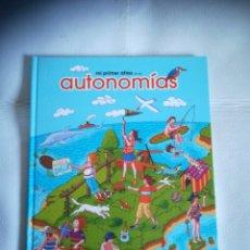 Libros: LIBRO ATLAS AUTONOMIAS. Lote 294375213