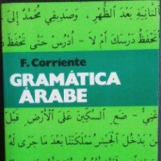 Livres: F. CORRIENTE. GRAMATICA ARABE. HERDER. Lote 110971839