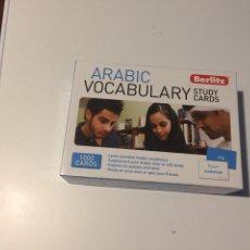 Livres: ARABIC VOCABULARY STUDY CARDS BERLITZ. Lote 139725845
