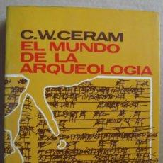 Libros: EL MUNDO DE LA ARQUEOLOGÍA. Lote 12334374