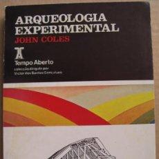 Livros: ARQUEOLOGÍA EXPERIMENTAL. Lote 12421504