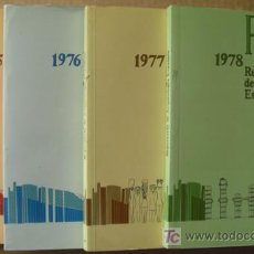 Libros: REPERTORIO DE ARQUEOLOGÍA ESPAÑOLA. AÑOS 1975, 1976,1977 Y 1978 (4 TOMOS ). Lote 12732647