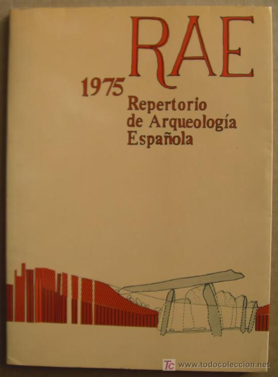 Libros: REPERTORIO DE ARQUEOLOGÍA ESPAÑOLA. AÑOS 1975, 1976,1977 y 1978 (4 TOMOS ) - Foto 2 - 12732647