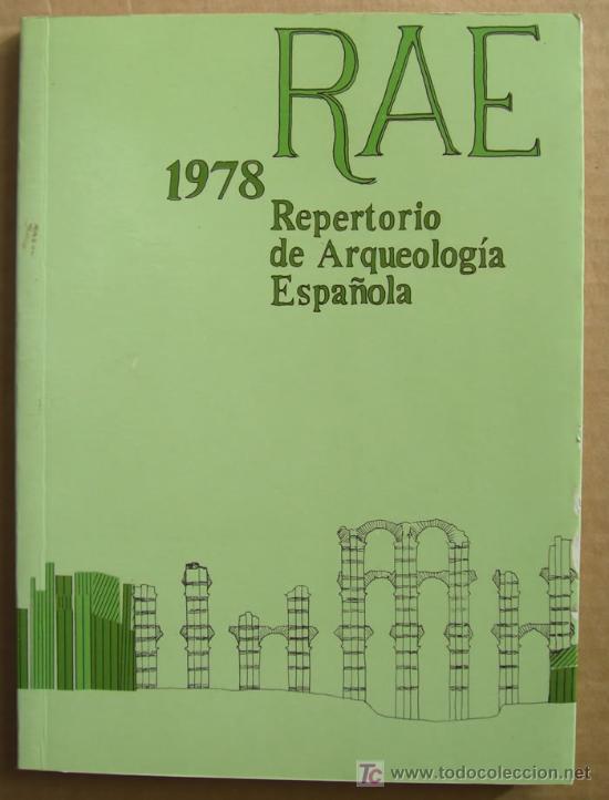 Libros: REPERTORIO DE ARQUEOLOGÍA ESPAÑOLA. AÑOS 1975, 1976,1977 y 1978 (4 TOMOS ) - Foto 5 - 12732647