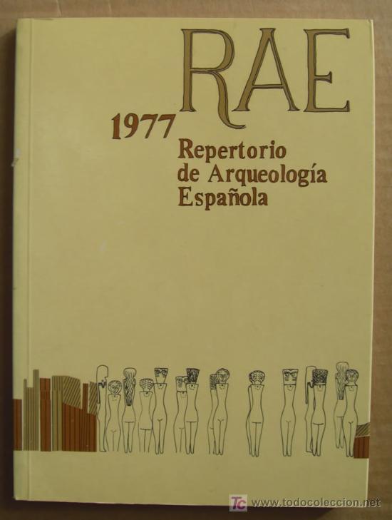 Libros: REPERTORIO DE ARQUEOLOGÍA ESPAÑOLA. AÑOS 1975, 1976,1977 y 1978 (4 TOMOS ) - Foto 4 - 12732647