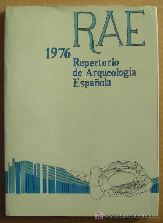 Libros: REPERTORIO DE ARQUEOLOGÍA ESPAÑOLA. AÑOS 1975, 1976,1977 y 1978 (4 TOMOS ) - Foto 3 - 12732647