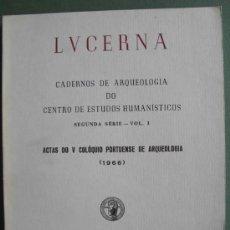 Libros: ACTAS DO V COLÓQUIO PORTUENSE DE ARQUEOLOGIA ( 1966 ). Lote 13246269