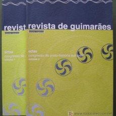 Libros: ACTAS DO CONGRESSO DE PROTO-HISTÓRIA EUROPEIA. DOS TOMOS. OBRA COMPLETA. ARQUEOLOGÍA. Lote 13249102
