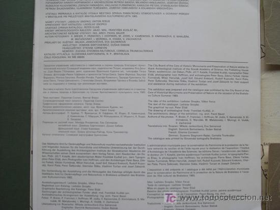 Libros: ARCHEOLOGICKE PAMIATKY A SUCASNOST. AUGUST 1983. OBJETOS ARQUEOLÓGICOS Y PRESENTE - Foto 5 - 13489989