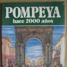 Libros: POMPEYA HACE 2000 AÑOS. ARQUEOLOGÍA DIVULGATIVA ROMANA. Lote 13848482