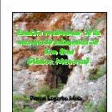 Libros: ESTUDIO PRELIMINAR DE LA NECRÓPOLIS TALAYÓTICA DE SON BOU (ALAIOR, MENORCA). (ARQUEOLOGÍA) (LAGARDA). Lote 191909651