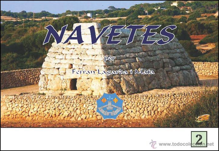 NAVETES DE MENORCA (ARQUEOLOGIA I HISTÒRIA) (LAGARDA) (Libros Nuevos - Historia - Arqueología)