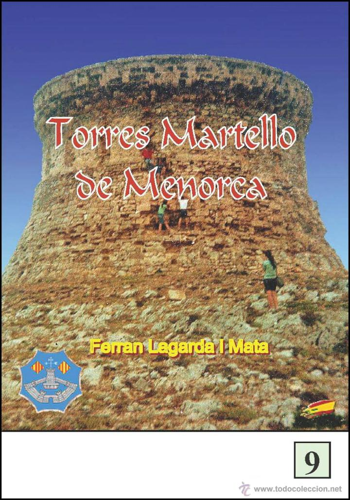 TORRES MARTELLO DE MENORCA (VERSIÓN CASTELLANA) (LAGARDA) (Libros Nuevos - Historia - Arqueología)