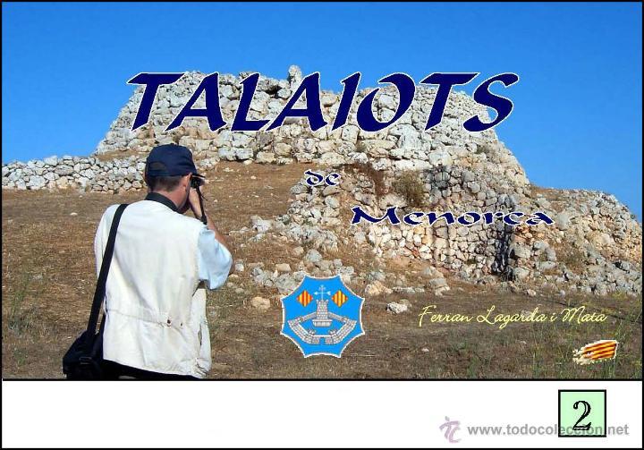 TALAIOTS DE MENORCA. (LAGARDA) (Libros Nuevos - Historia - Arqueología)