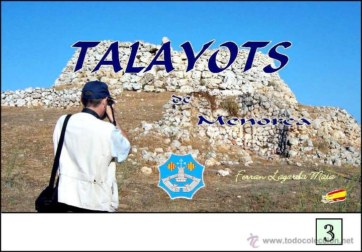 TALAYOTS DE MENORCA (VERSIÓN CASTELLANA) (ARTE-ARQUEOLOGÍA) (LAGARDA) (Libros Nuevos - Historia - Arqueología)