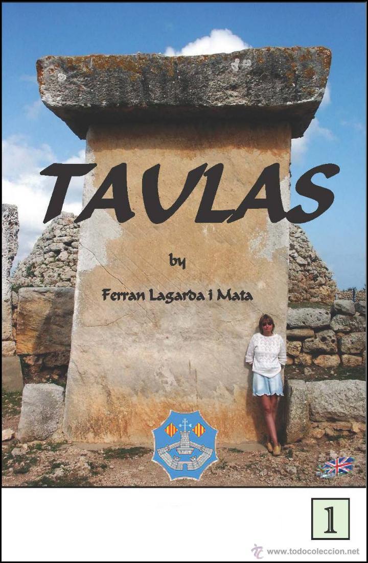 TAULAS OF MINORCA (ENGLISH VERSION) (LAGARDA) (Libros Nuevos - Historia - Arqueología)