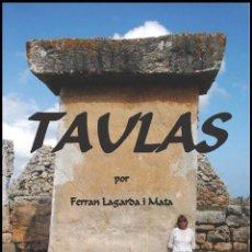 Libros: TAULAS DE MENORCA (VERSIÓN CASTELLANA) (LAGARDA). Lote 61993366