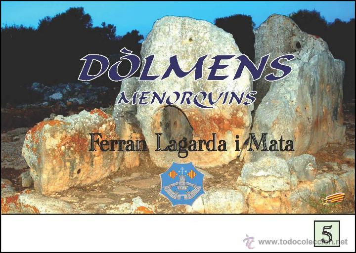 DÒLMENS MENORQUINS (VERSIÓ CATALANA) (ARQUEOLOGÍA-ARTE) (LAGARDA) (Libros Nuevos - Historia - Arqueología)