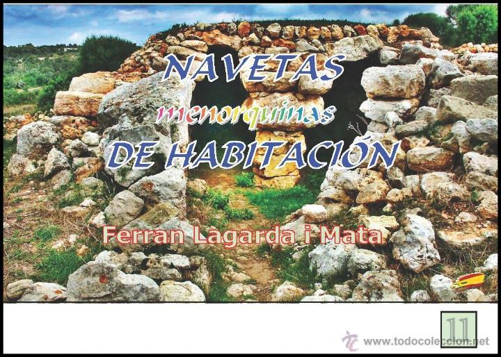 NAVETAS MENORQUINAS DE HABITACIÓN. (LAGARDA) (Libros Nuevos - Historia - Arqueología)