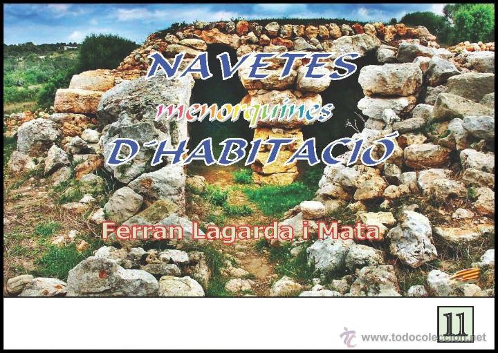 NAVETES MENORQUINES D'HABITACIÓ. (LAGARDA) (Libros Nuevos - Historia - Arqueología)