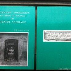 Libros: GUERRA CAMPOS (1982) EXPLORACIONES ARQUEOLÓGICAS EN TORNO AL SEPULCRO DEL APÓSTOL SANTIAGO AGOTADO. Lote 56219491