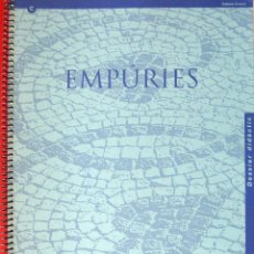 Libros: EMPÚRIES. DOSSIER DIDÀCTIC.. Lote 66364054