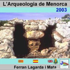 Libros: L'ARQUEOLOGIA DE MENORCA. LAGARDA.. Lote 67275581