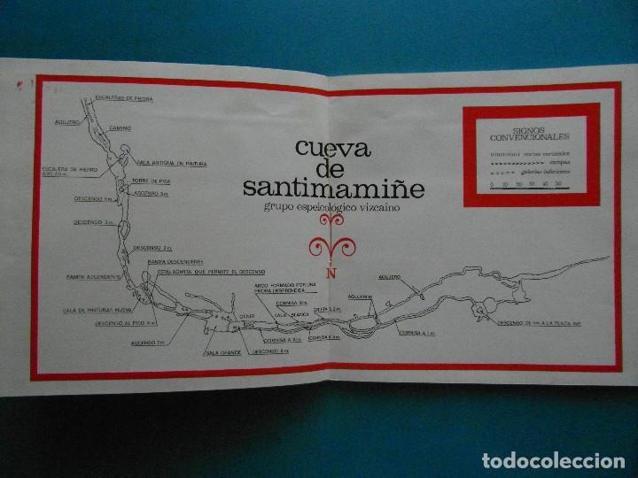 Libros: La Caverna de Santimamiñe. Juan Maria Apellaniz - Foto 3 - 131976317