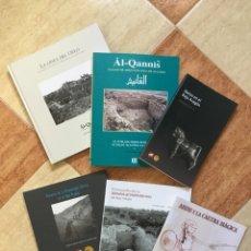 Libros: LOTE DE LIBROS SOBRE ARQUEOLOGÍA EN EL BAJO ARAGÓN. Lote 94143152