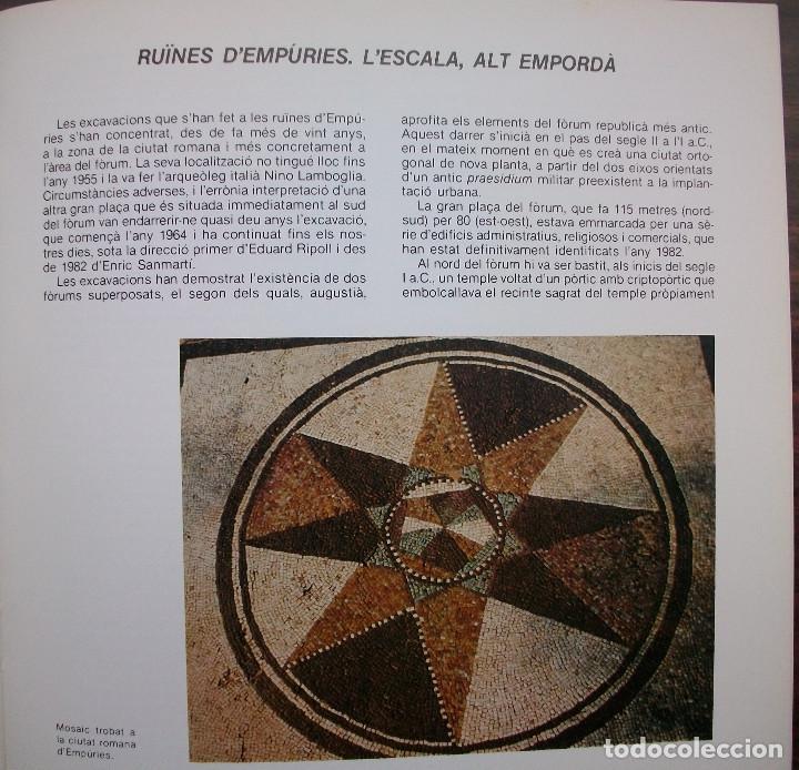 Libros: L'ARQUEOLOGIA I LA NOSTRA HISTORIA. - Foto 2 - 133669154