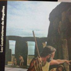 Libros: LOS CONSTRUCTORES DE MEGALITOS, ORÍGENES DEL HOMBRE, WERNICK,. Lote 136001941
