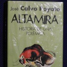 Libros: ALTAMIRA. JOSÉ CALVO POYATO 2015. GRAN OCASION, NUEVO A ESTRENAR, PRECINTADO. Lote 139447894