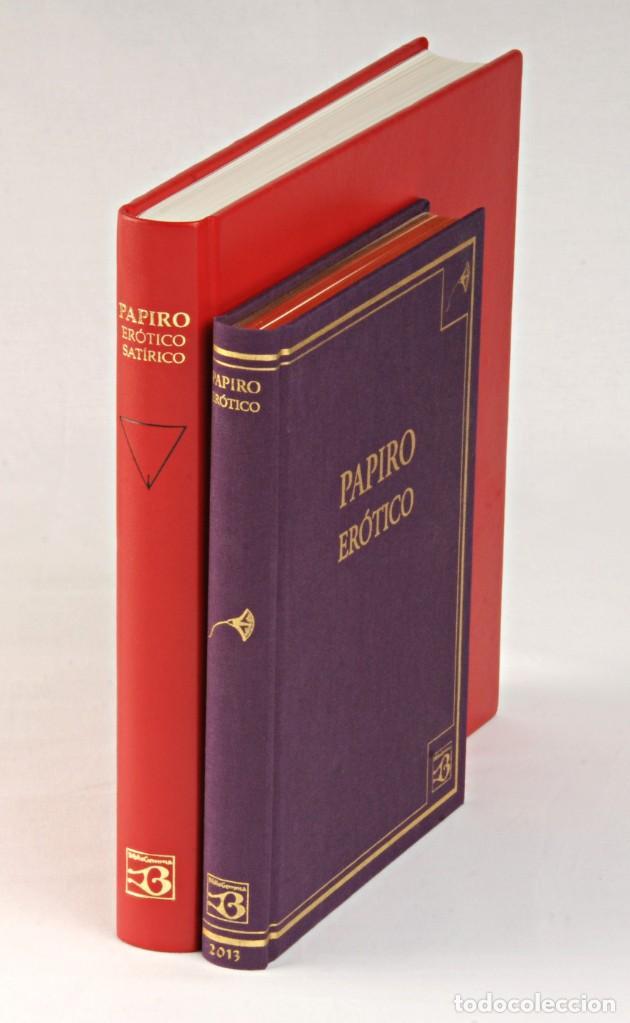 PAPIRO ERÓTICO – SATÍRICO. ANTIGUO EGIPTO. FÁCSIMIL EDITORIAL BIBLIOGEMMA (Libros Nuevos - Historia - Arqueología)