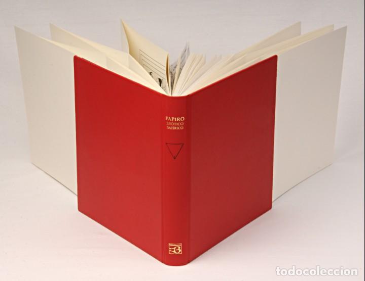 Libros: PAPIRO ERÓTICO – SATÍRICO. ANTIGUO EGIPTO. FÁCSIMIL EDITORIAL BIBLIOGEMMA - Foto 4 - 140071810