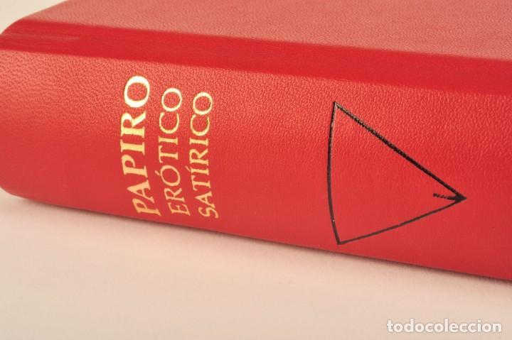 Libros: PAPIRO ERÓTICO – SATÍRICO. ANTIGUO EGIPTO. FÁCSIMIL EDITORIAL BIBLIOGEMMA - Foto 5 - 140071810