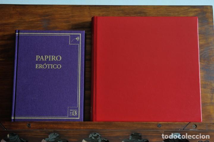 Libros: PAPIRO ERÓTICO – SATÍRICO. ANTIGUO EGIPTO. FÁCSIMIL EDITORIAL BIBLIOGEMMA - Foto 7 - 140071810