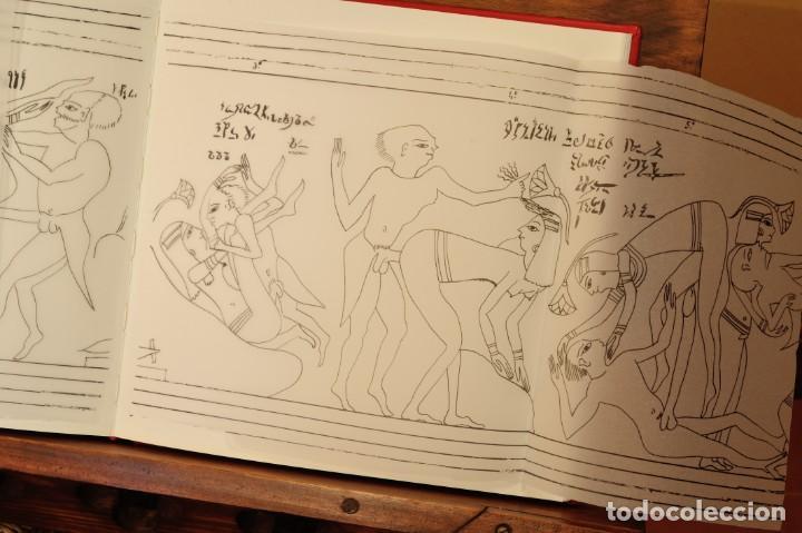 Libros: PAPIRO ERÓTICO – SATÍRICO. ANTIGUO EGIPTO. FÁCSIMIL EDITORIAL BIBLIOGEMMA - Foto 13 - 140071810