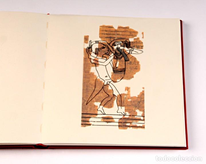 Libros: PAPIRO ERÓTICO – SATÍRICO. ANTIGUO EGIPTO. FÁCSIMIL EDITORIAL BIBLIOGEMMA - Foto 15 - 140071810