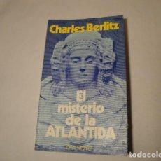 Libros: EL MISTERIO DE LA ATLÁNTIDA. AUTOR: CHARLES BERLITZ. EDITORIAL POMAIRE. AÑO 1978. NUEVO.. Lote 157291074