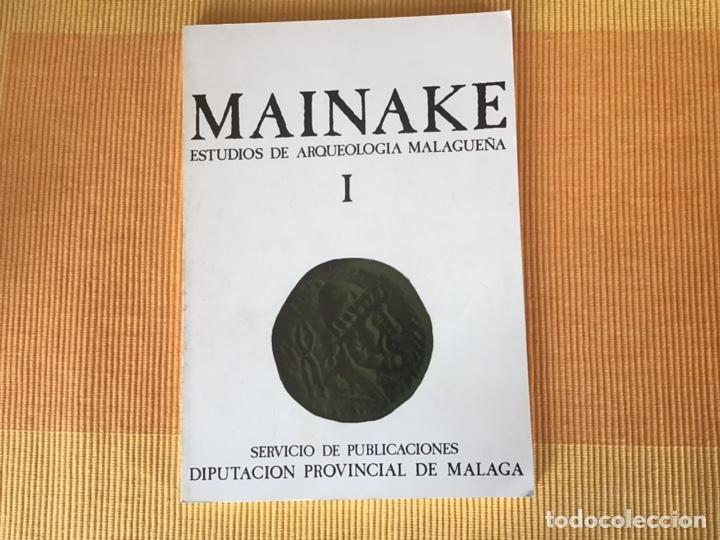 REVISTA MAINAKE NÚMERO 1 MALAGA AÑOS 70 (Libros Nuevos - Historia - Arqueología)