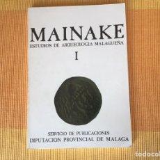 Libros: REVISTA MAINAKE NÚMERO 1 MALAGA AÑOS 70. Lote 169228392