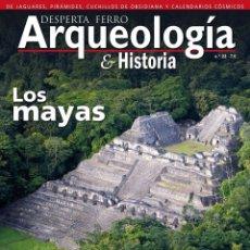Libros: DOS O MAS REVISTAS, ENVÍO GRATIS. DESPERTA FERRO ARQUEOLOGIA N.23. LOS MAYAS. Lote 266318908